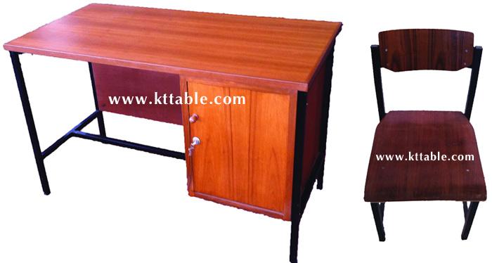 โต๊ะทำงานราชการและเก้าอี้ ระดับ 1-2