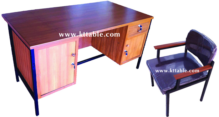 โต๊ะทำงานข้าราชการและเก้าอี้ ระดับ 3-6
